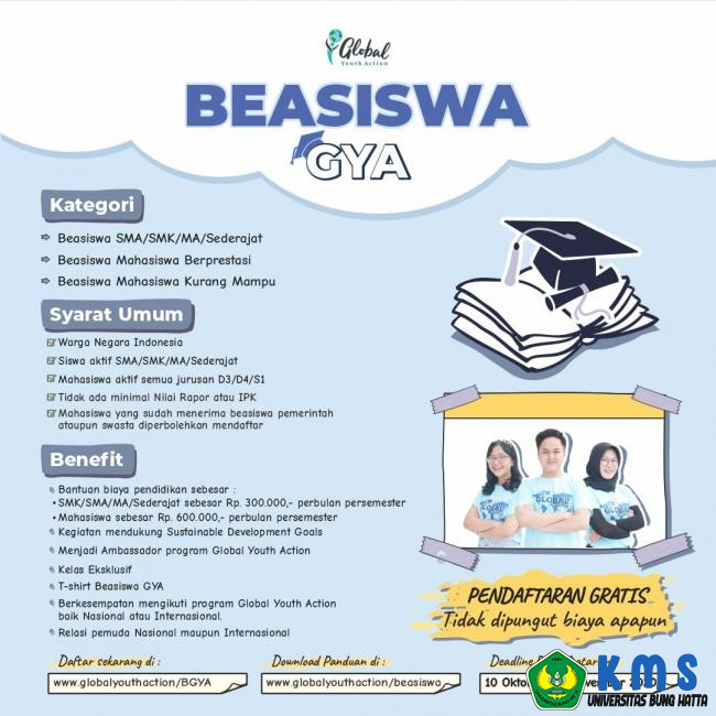 Beasiswa Global Youth Action Tahu
